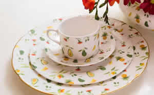 Caribbean Garden Fine Bone China Collection