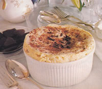 Cold Rum Souffle
